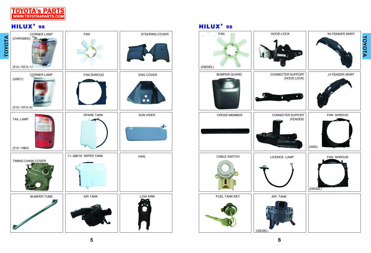 2006 Toyota 4runner Parts Diagram Wiring Diagrams For Dummies Online Genuine Hiace Catalog Auto Highlander