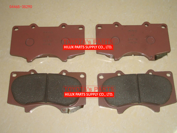 04465-35290,Toyota Brake Pad For Prado FJ Cruiser Fortuner