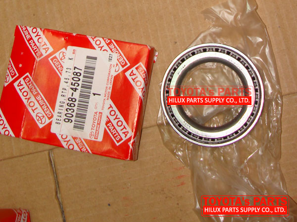 90368-45087,Supply Genuine Toyota Wheel Outer Bearing